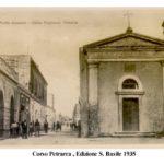 Corso Petraca Porto Cesareo foto storiche