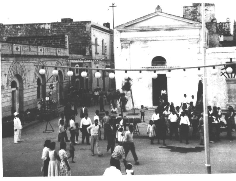 festa santa cesarea anni 50
